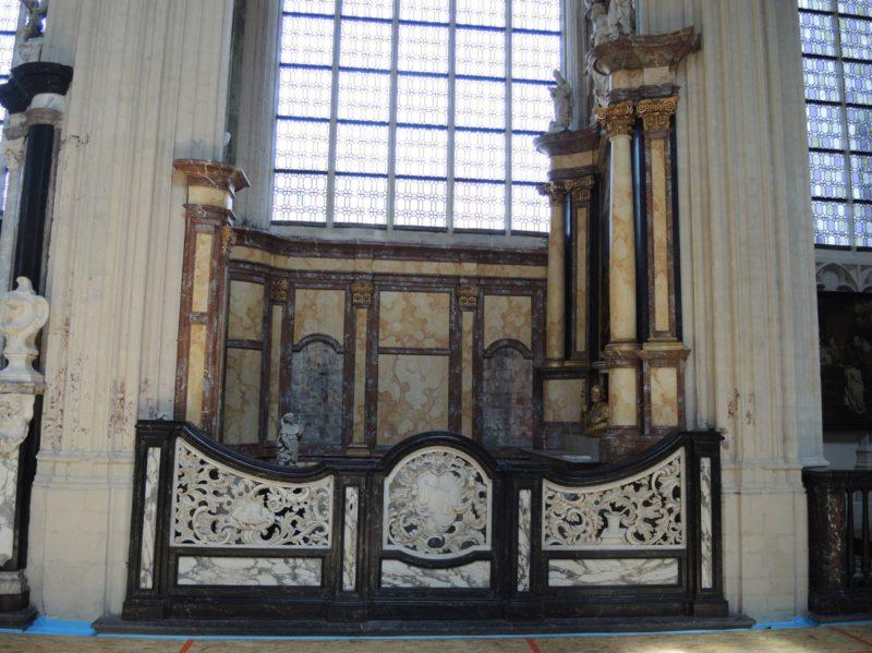 Restauratie altaar