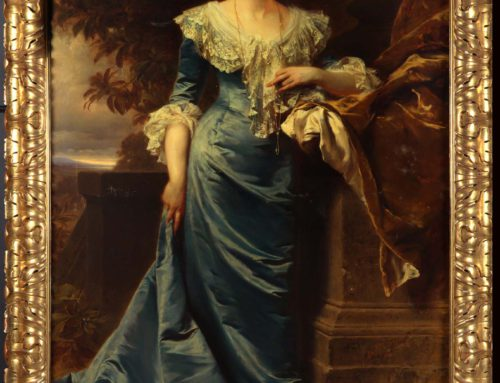 Restauratie portret Hedwige van Ligne