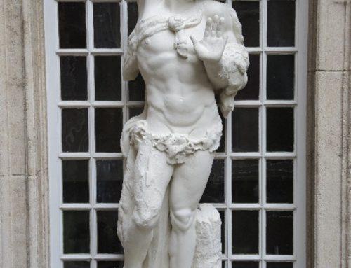 Zandstenen sculpturen, Mercator Orteliushuis