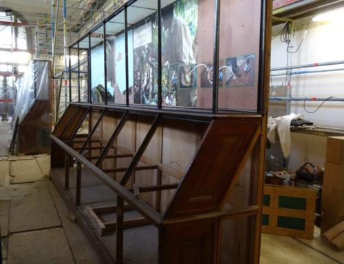 Restauratie tentoonstellingskasten Koninklijk Museum voor Midden-Afrika