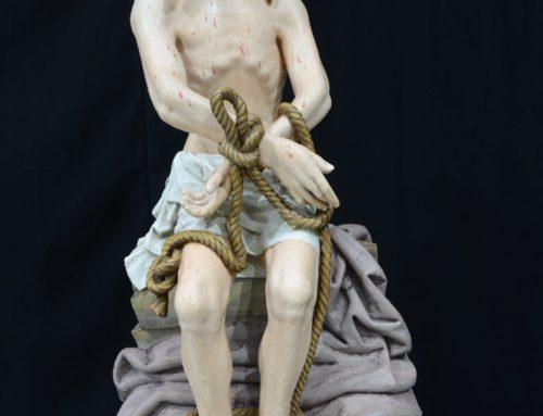 Restauratie sculpturen M museum Leuven