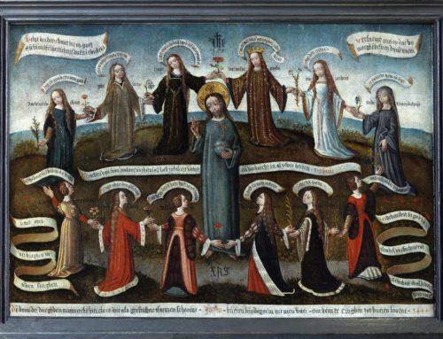 Restauratie schilderij Dans der Deugden