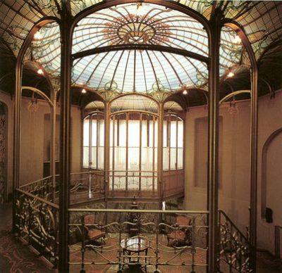 Restauratie Hotel Van Eetvelde van Victor Horta