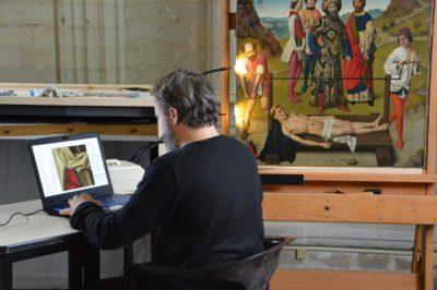 Geüpload naarBekijk de restauratie van 'De Marteling van de Heilige Erasmus' live!