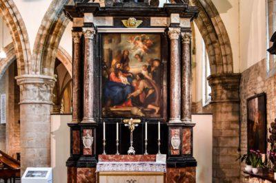 restauartie schilderijen Antoon van Dyck, Dendermonde