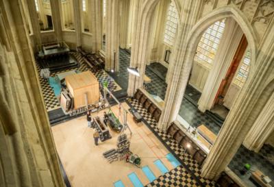 Hendrik restauratie steen, sint-pieterskerk Leuven