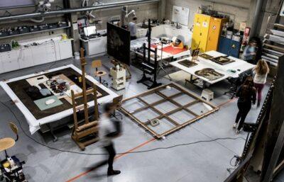 restauratie atelier conservatie van kunstobjecten