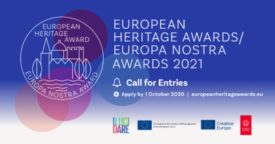 Open for submissions: European Heritage Awards / Europa Nostra Awards 2021