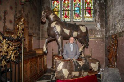 Paard van Ronse restauratie door IPARC, behoud van erfgoed