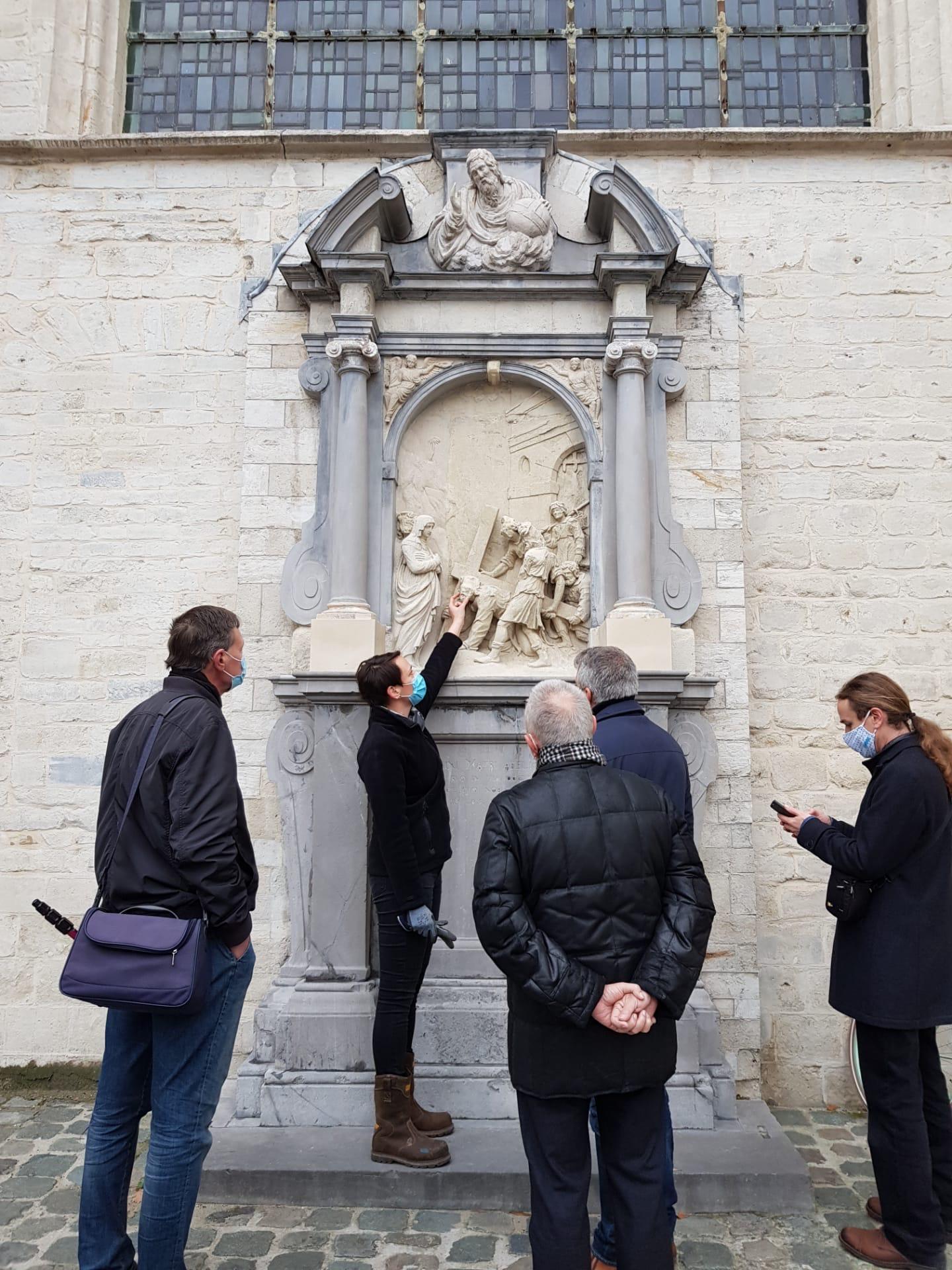 Een tweede statie van de Onze-Lieve-Vrouw over de Dijlekerk gaat in restauratie