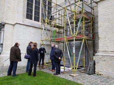 restauratie stenen objecten, Dijlekerk