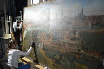 Restauratie en conservatie van schilderijen uit collectie STAM GENT
