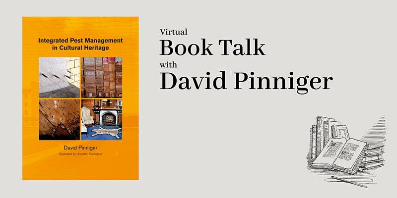 Book talk on pest management in cultural heritage